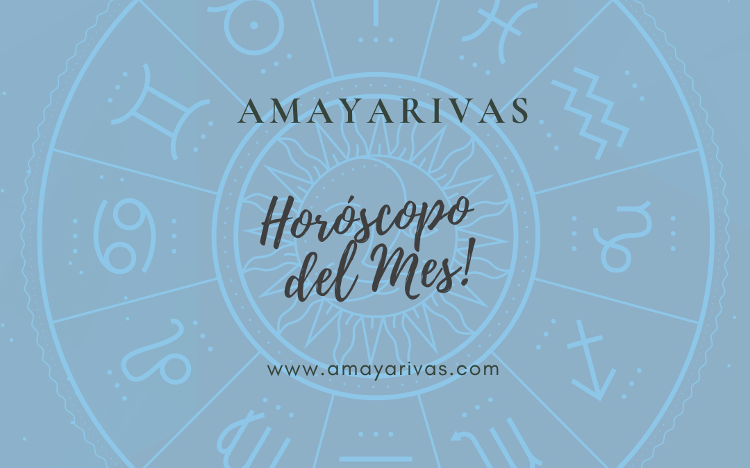 Descubre tu horóscopo mensual, pistas y claves para mejorar tu vida.